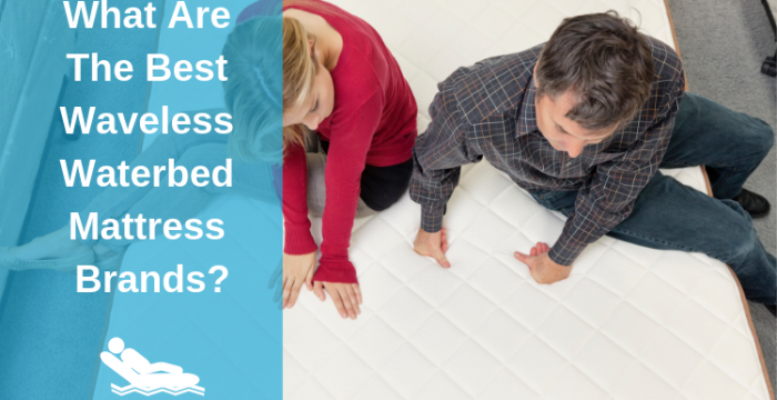 What Are The Best Waveless Waterbed Mattress Brands To Buy In 2018?