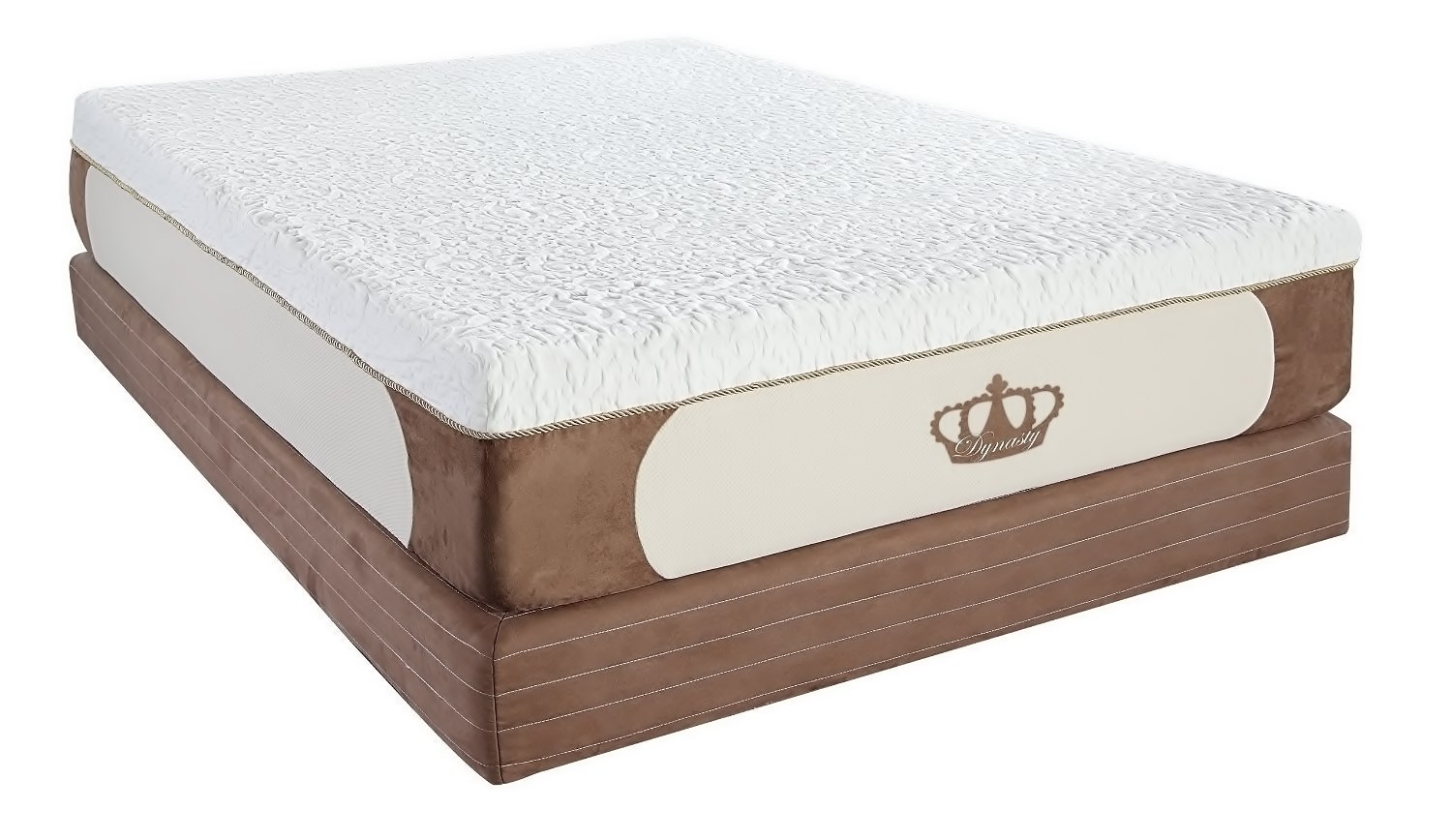 DynastyMattress High Density Open Cell CoolBreeze Gel Memory Foam Mattress