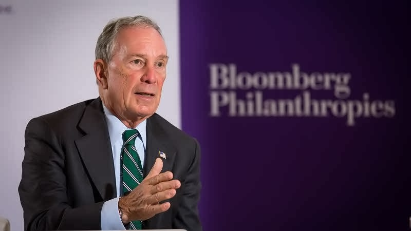 Michael Bloomberg a politician philanthropist and CEO