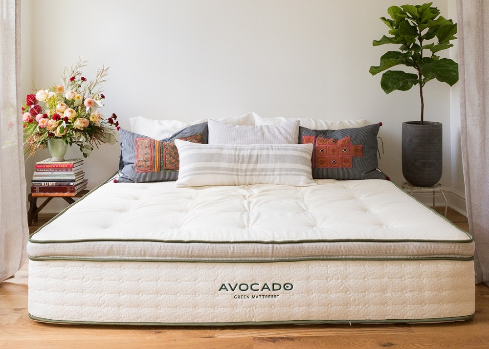 Avocado Green Vegan foam Hypoallergenic Mattress