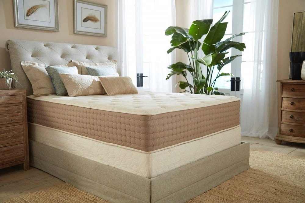 Eco Terra Natural Latex Hybrid Mattress