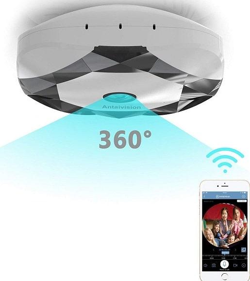 Antaivision G-201L Fisheye Lens 360° Wireless Camera