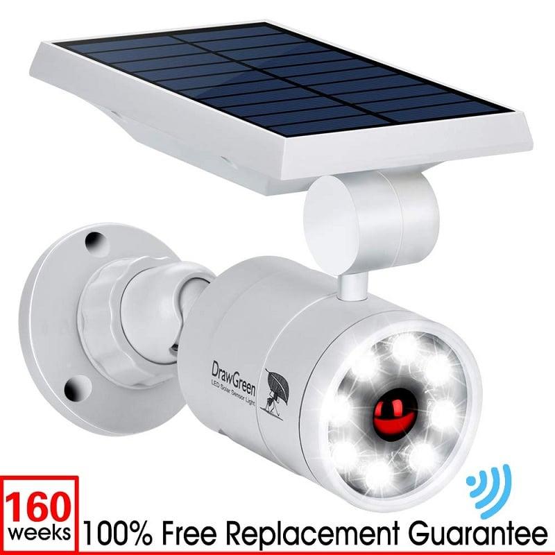 DrawGreen solar powered security camera