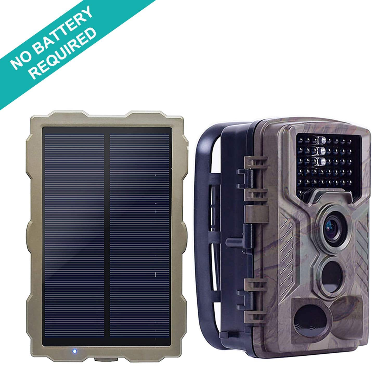 ECO LLC Trail Camera with Solar Panel