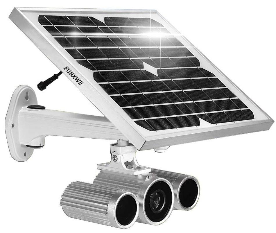 Funxwe 1080p Full HD solar powered security camera