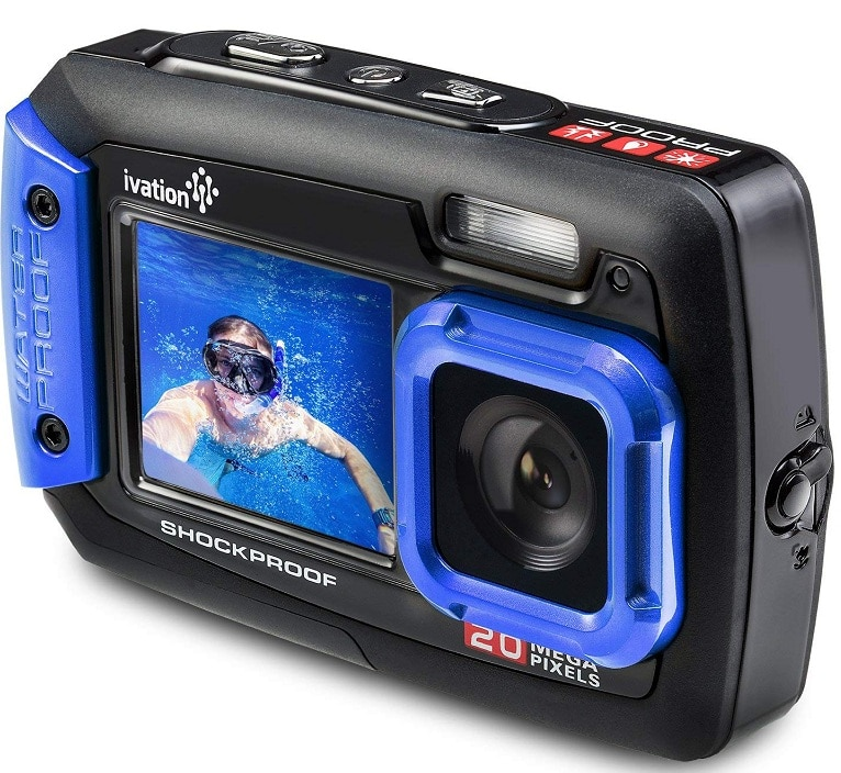 Ivation 20MP underwater video camera