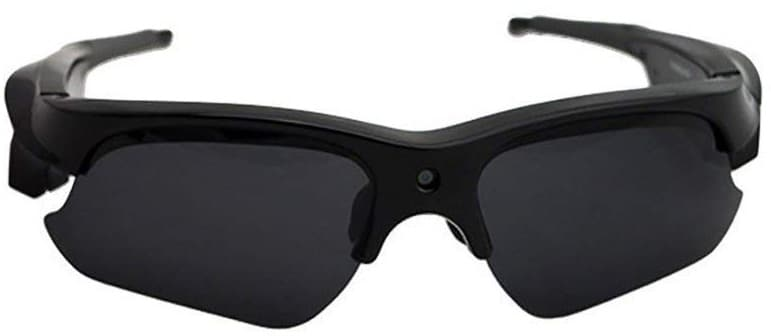 Kingear Sunglasses headset with stereo audio and HD video quality