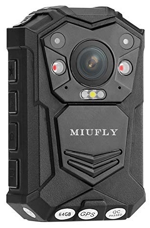 MIUFLY 1296P HD Police Body Camera