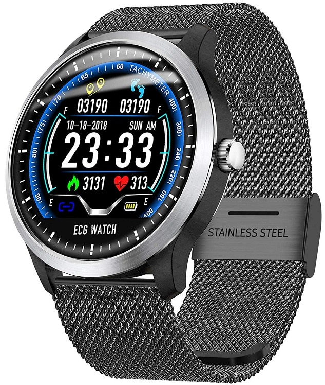 Refly N58 ECG Blood Pressure & HRV Watch