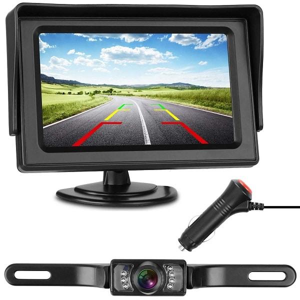 Strong Backup Camera and Monitor Kit