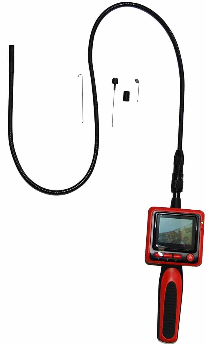 Vividia 9mm Portable Digital Flexible Inspection Borescope