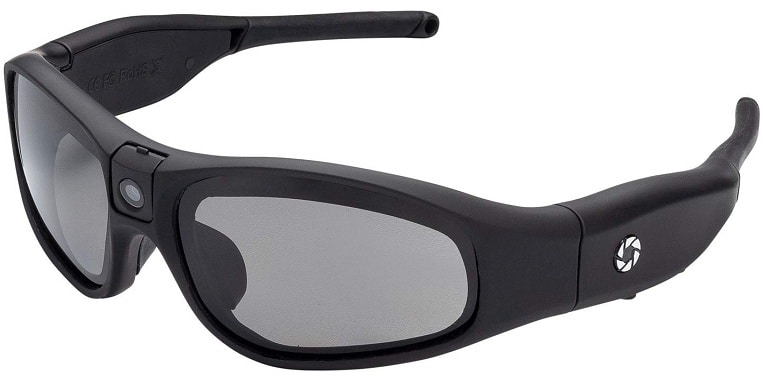 iVUE Horizontal 1080p HD camera Glasses