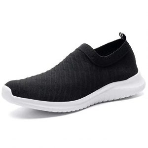 Konhill Casual Walking Shoes  Black