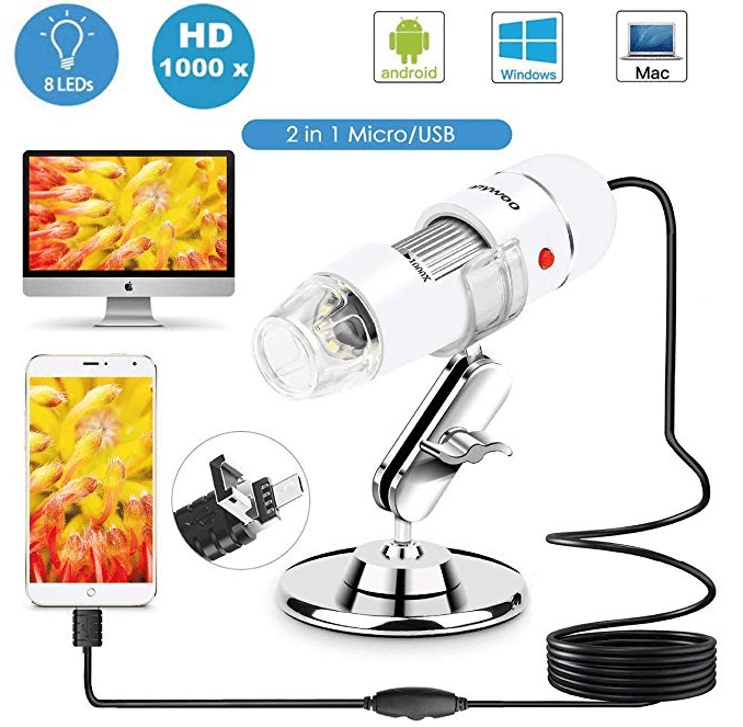 Sunnywoo USB Digital Microscope