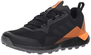 adidas outdoor Men's Terrex Black Orange