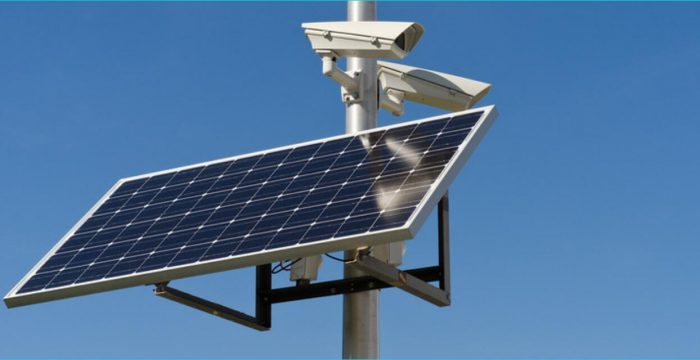 Solar-Powered Security Cameras