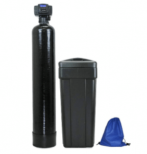 ABCwaters Built Fleck 5600sxt 48,000 Black WATER SOFTENER