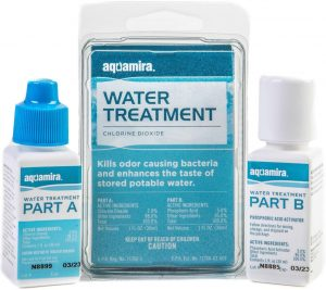 Aquamira - Chlorine Dioxide Water Treatment Two Part Liquid