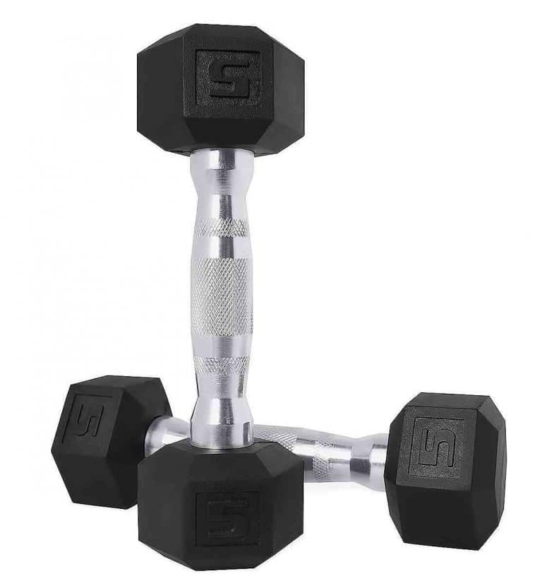 BalanceFrom GoFit All Purpose Lightweight Workout Dumbbell