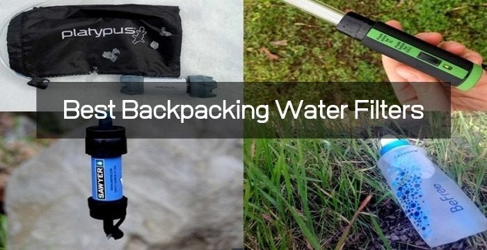 Top 8 Backpacking Water Filters