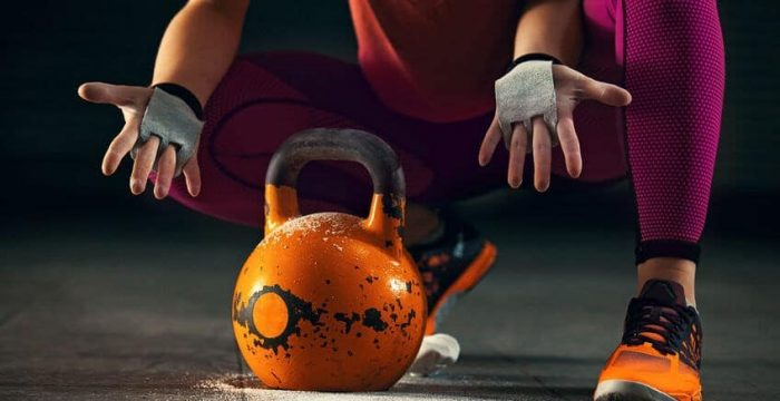 Effectiveness for ballistic exercises of kettlebell