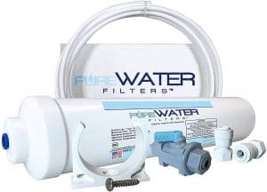 Inline Water Filter Kit for Ice Makers