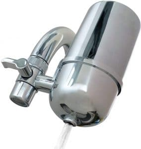 Kabter Faucet Mount Water Filter Tap Water Filtration Purifier