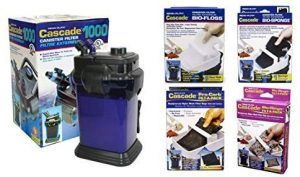 Penn Plax Cascade 1000 Canister Filter Pro Package