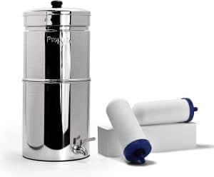 Propur Big Countertop Gravity Water Filter System