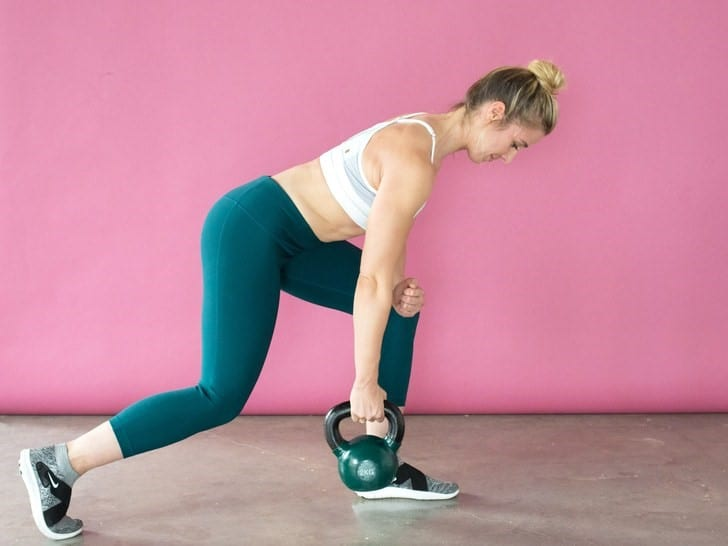 kettlebells Weights for swings and many single handed exercises