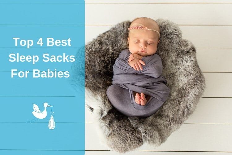 Best Sleep Sacks for Babies Feature Image