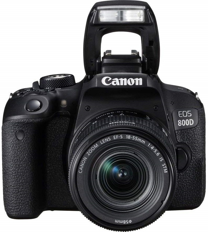 Canon EOS Rebel T7i 800D DSLR Camera