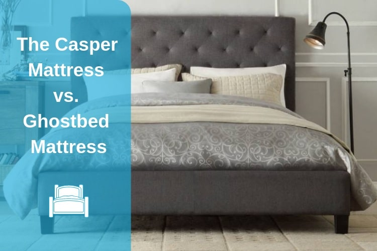 Casper mattress vs Ghostbed mattress Feature image