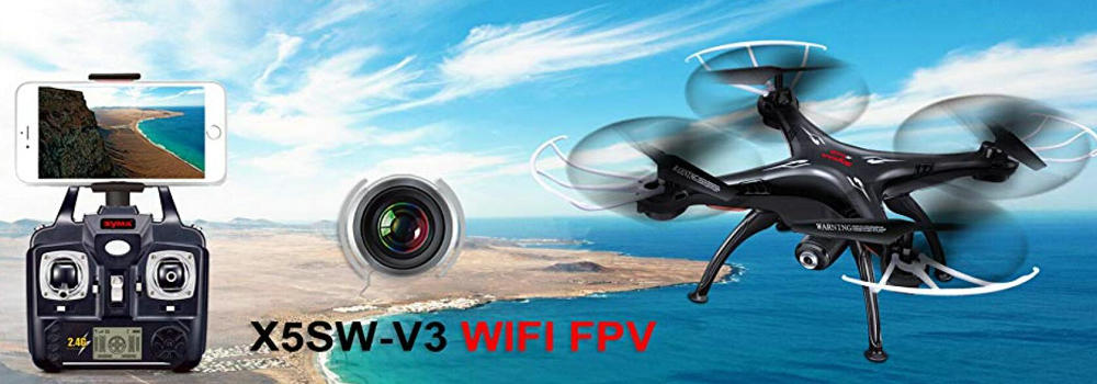 Cheerwing Syma X5SW-V3 WiFi FPV Drone