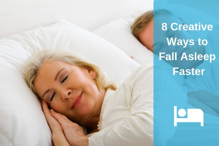 Creative Ways to Fall Asleep Faster Feature Image