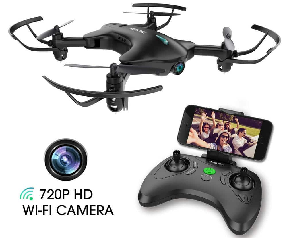 DROCON Drone with 720P HD Wi-Fi Camera