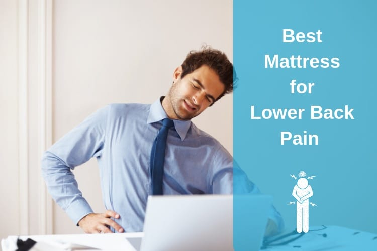 The Best Mattress for Lower Back Pain Feature Image