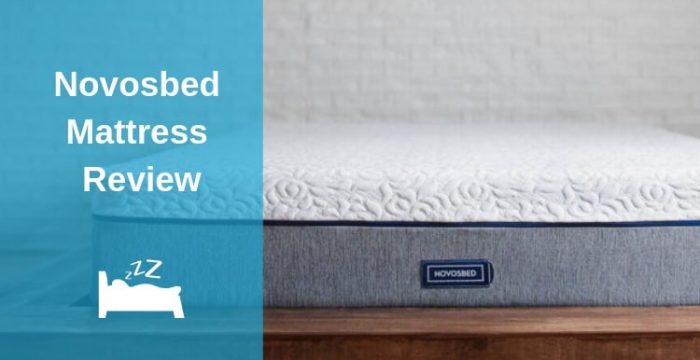 The Novosbed Mattress Feature Image