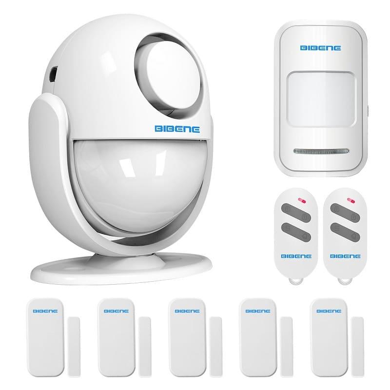 Bibene WiFi home security door alarm system