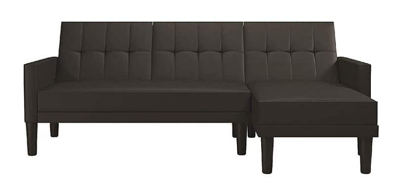 DHP Haven Sectional Futon Sofa