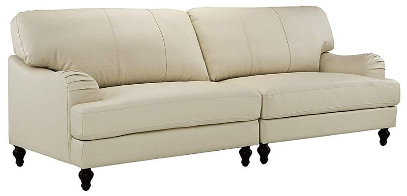 Divano Roma Furniture Classic 2 Piece Convertible Couch