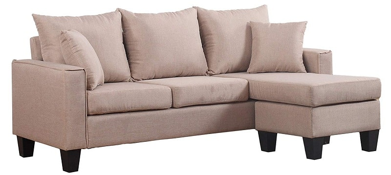 Divano Roma Furniture Modern Sectional Sofa