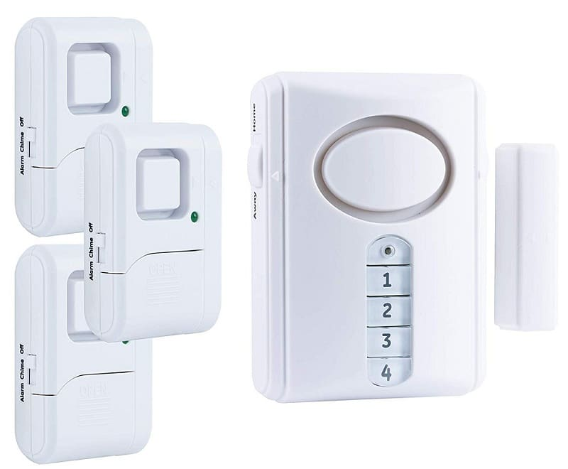 GE personal home security for doors and windows