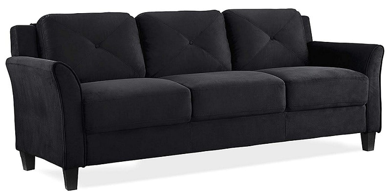 Lifestyle Solutions Grayson Micro-Fabric Sofa
