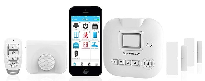 SkylinkNet Connected Wireless Alarm system