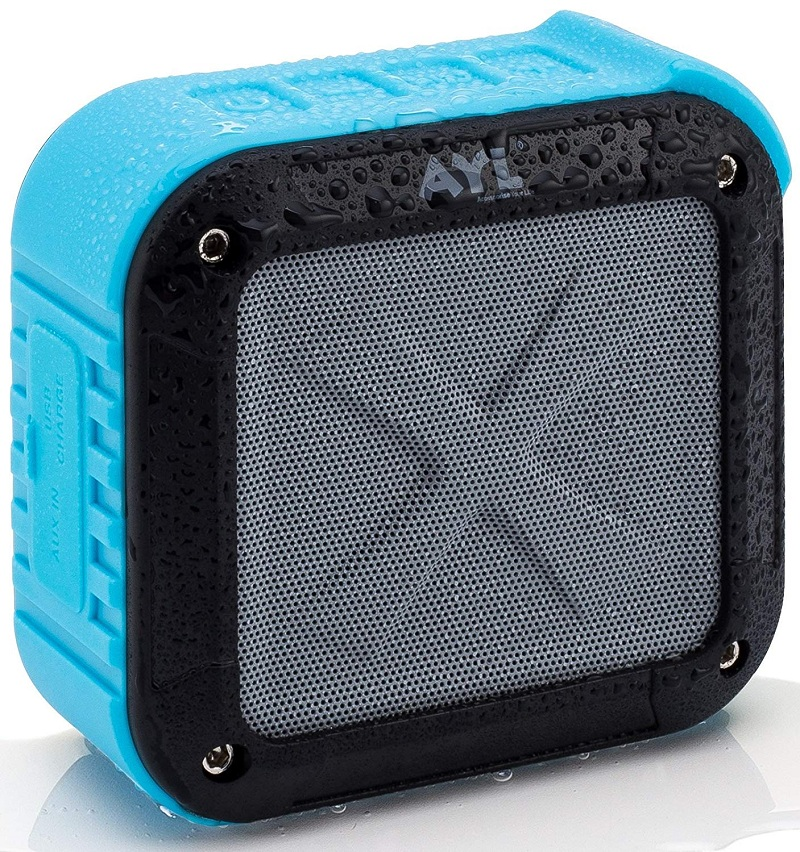 AYL Portable Outdoor and Shower Bluetooth 5.0 speaker