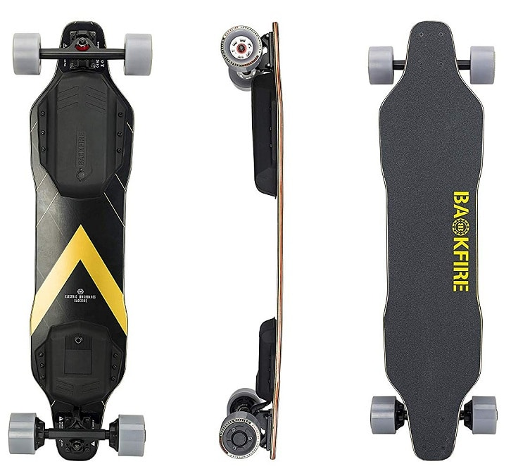 Backfire G2 electric skateboard