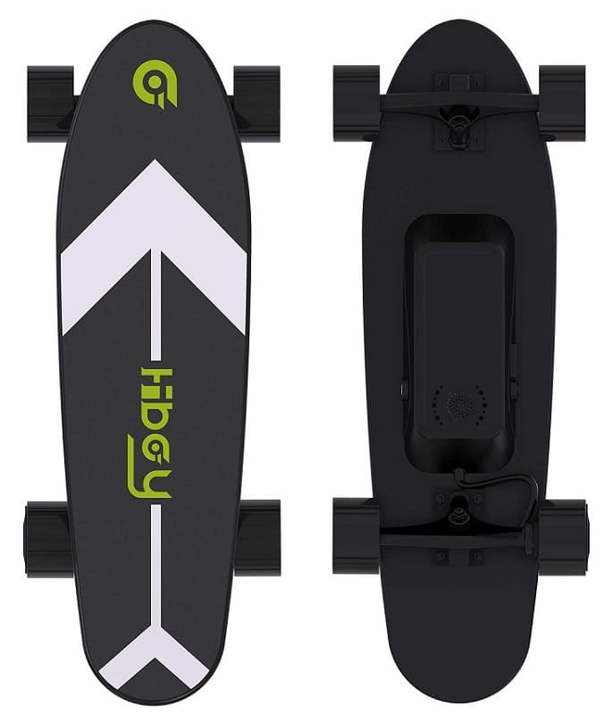 Hiboy electric skateboard with wireless remote