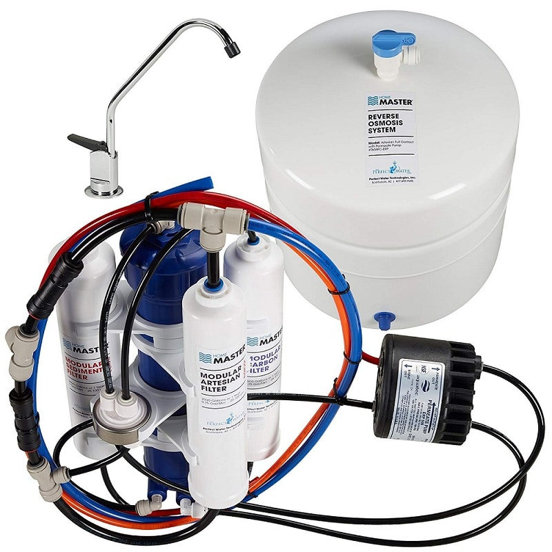 Home Master TMAFC-ERP Artesian full contact lead water filter
