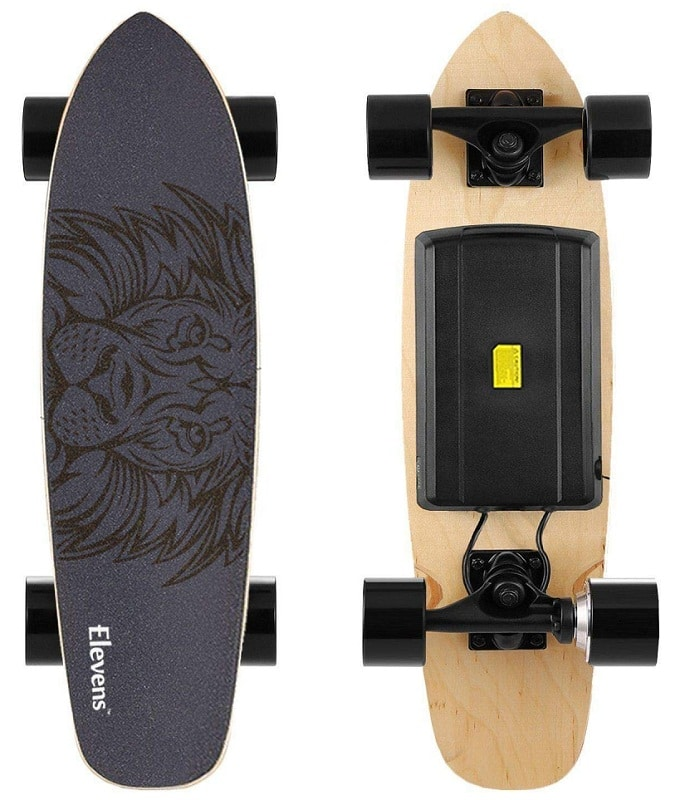 "Leve 28"" electric longboard"